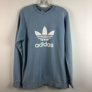 Adidas Powder Blue Crew Neck Sweatshirt